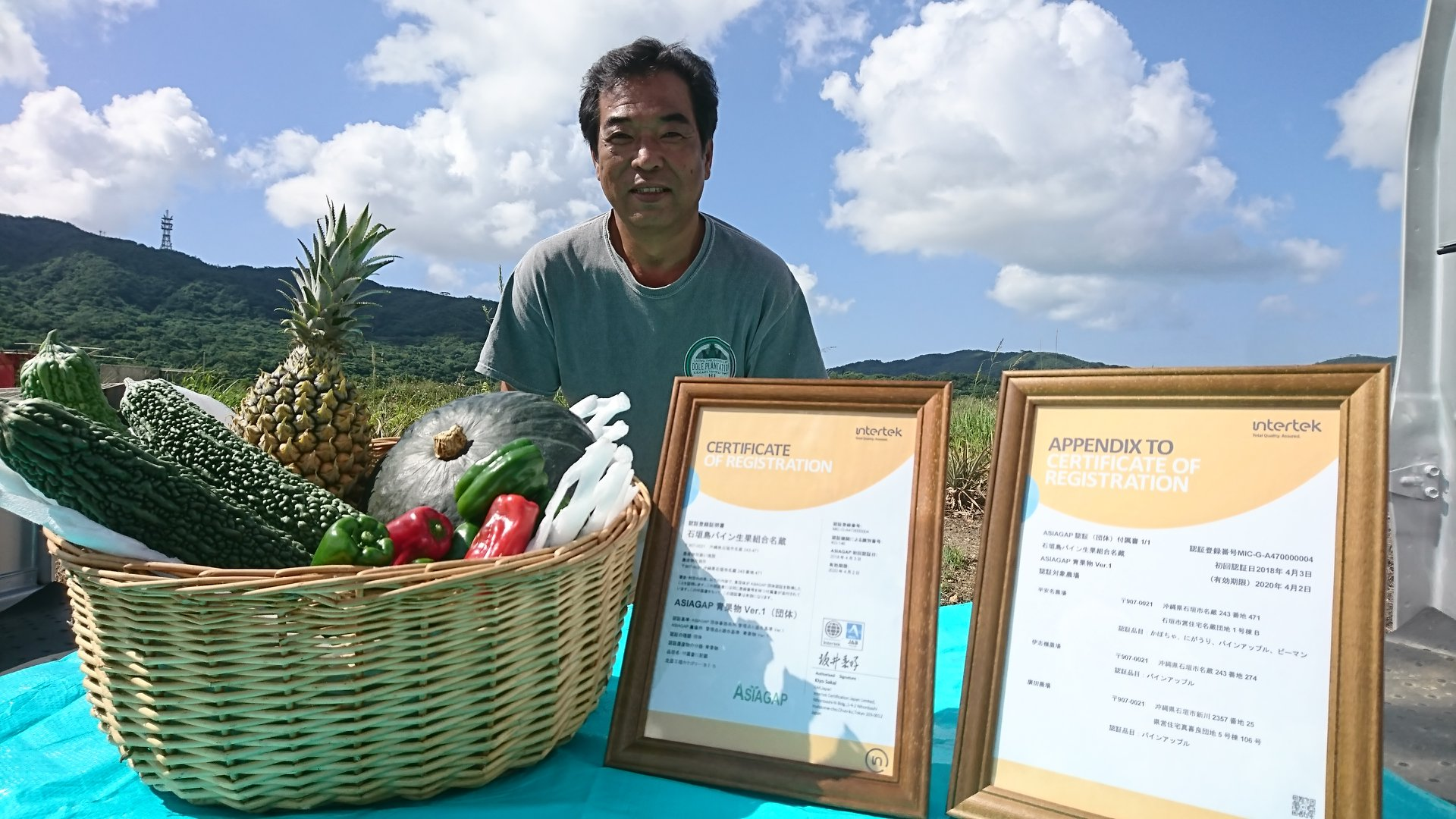 About us 環境に配慮した安全・安心な島の野菜・果物を作っています。